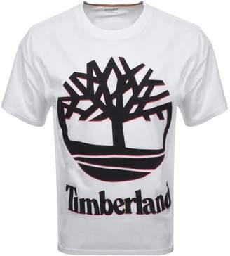Timberland Logo T Shirt White