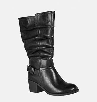 Avenue Evelyn Ruched Buckle Boot