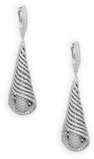 Lafonn Sterling Silver Statement Earrings