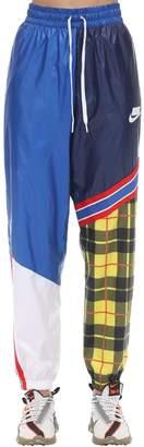 Nike Patchwork Construction Nylon Pants