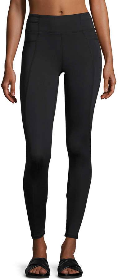 Charlie Jade Charlie Jade Crisscross-Back Performance Leggings, Black