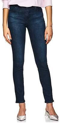 J Brand Women's 811 Mid-Rise Skinny Jeans - Md. Blue