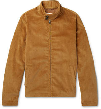 Privee SALLE Harvey Cotton-Corduroy Blouson Jacket