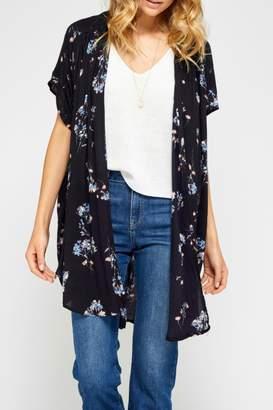 Gentle Fawn Floral Kimono