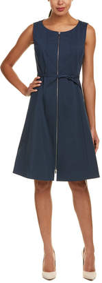 Lafayette 148 New York Coralie A-Line Dress