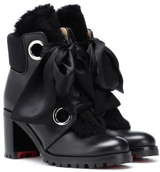 Christian Louboutin Jenny From The Alps 70 ankle boots