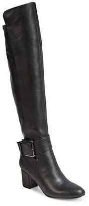 Karl Lagerfeld PARIS Callie Buckle Boots