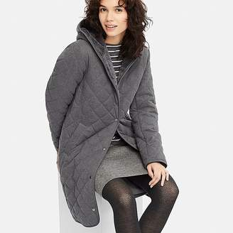 Uniqlo Women's Pile-lined Fleece Coat (online Exclusive)