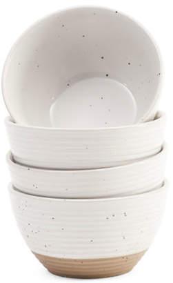4pk Speckled Bowls