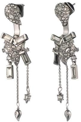 Alexis Bittar Crystal Paisley Ear Jackets