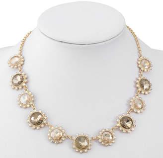 MONET JEWELRY Monet Jewelry Womens Brown Collar Necklace