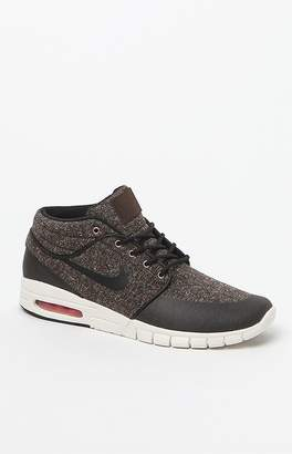 New Balance Nike Sb Stefan Janoski Max Mid Brown Tweed Shoes