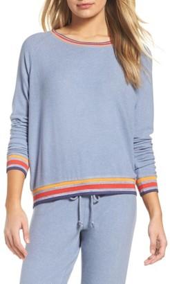 Women's Make + Model Cozy Crew Raglan Sweatshirt $49 thestylecure.com