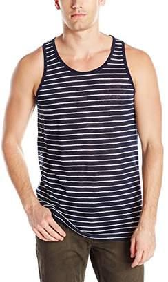 ATM Anthony Thomas Melillo Men's Striped Linen Jersey Tank