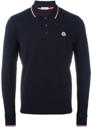 ... Moncler long sleeve polo shirt