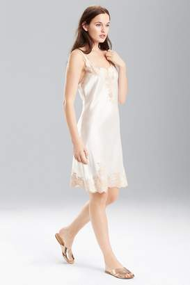 Josie Natori Lolita Chemise with Top and Bottom Lace