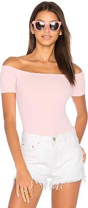 Capulet x REVOLVE Short Sleeve Shoulderless Bodysuit