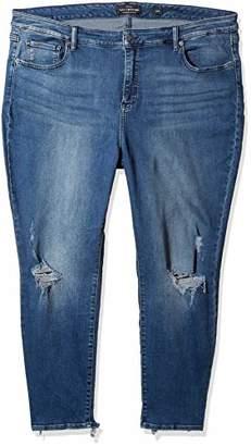 4c634ef9509 at Amazon.com · Lucky Brand Women s Plus Size Mid Rise Lolita Super Skinny  Jean
