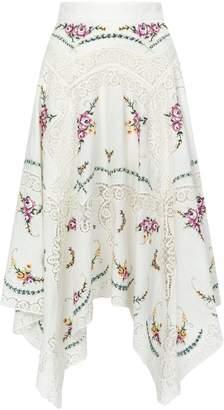 Zimmermann Allia Flared Skirt