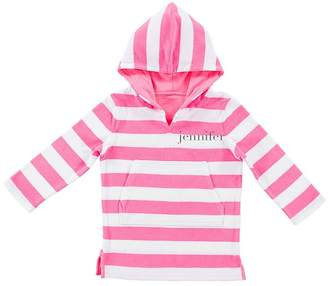 Pottery Barn Kids Pink Stripe Beach Cover-Up
