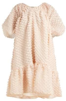 Cecilie Bahnsen - Chrystal Fil Coupe Organza Dress - Womens - Light Pink