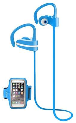 Jarv Blue MACH 1 Sport Wireless In-Ear Bluetooth Headphones with Universal Sports Armband