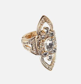 Avenue Marquise Stone Stretch Ring