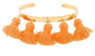 Marte Frisnes Orange Raquel Tassel Bangle