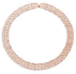 Adriana Orsini Anise Crystal Collar Necklace