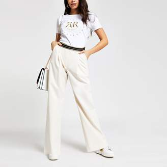 d09af00931 River Island Wide Leg Trousers For Women - ShopStyle UK