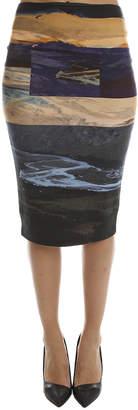 McQ Color Block Skirt