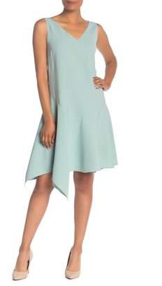 Lafayette 148 New York Floretta V-Neck Dress