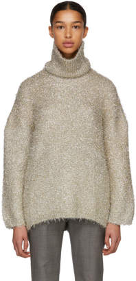 Ports 1961 Gold Detachable Collar Turtleneck