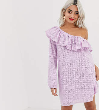 Vero Moda Petite One Shoulder Dress