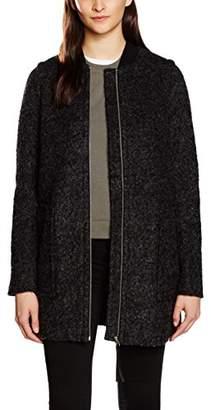 1d243decec9a Vero Moda Women's VMANTONIA 3/4 WOOL JACKET DNM Coat, Grey (Dark Grey