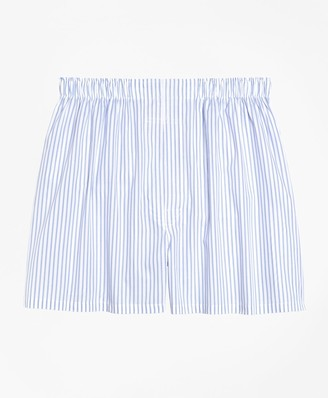 Brooks Brothers Traditional Fit Ground Stripe Boxers