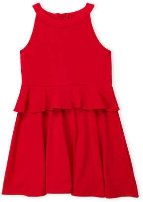 Kate Spade Girls 7-16) Peplum Waist A-Line Dress