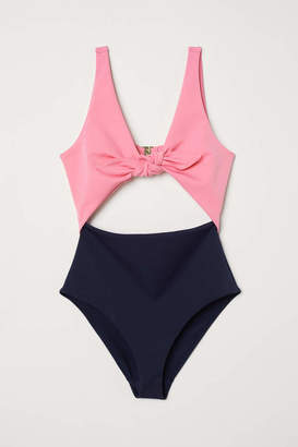 H&M Cut-out Swimsuit