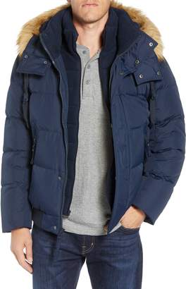 Andrew Marc Clermont Insulated Bomber Jacket
