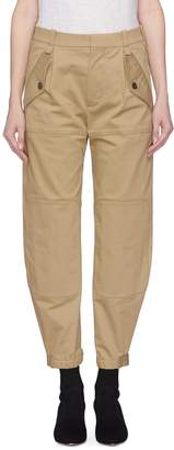 Chloé Knee patch zip cuff cargo pants