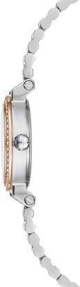 BCBGMAXAZRIA Classic Two-Tone Stainless Steel & Crystal Bracelet Watch