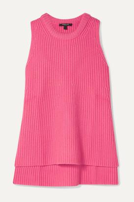 Derek Lam Ribbed Cashmere Top - Pink
