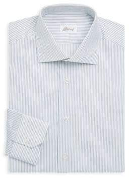 Brioni Stripe Cotton Dress Shirt