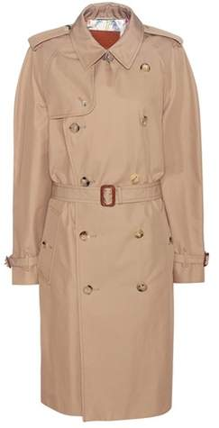 Gucci Sequinned cotton-blend trench coat