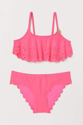 H&M Laser-cut Bikini - Pink