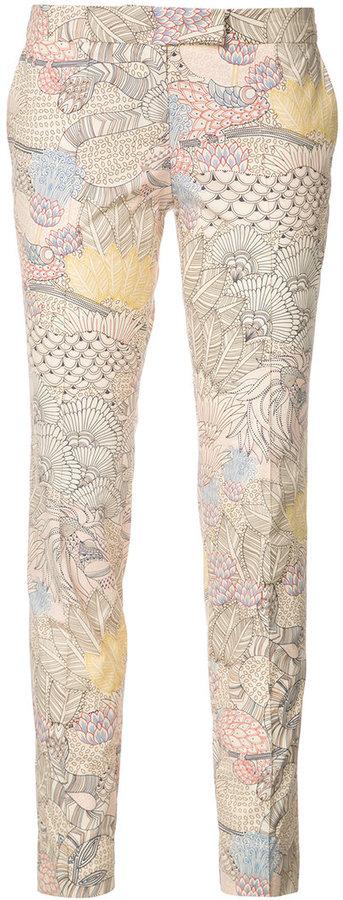Barbara BuiBarbara Bui embroidered skinny trousers