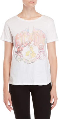 Lucky Brand AC/DC Faded Tee