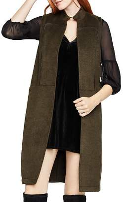BCBGeneration Piped Long Vest