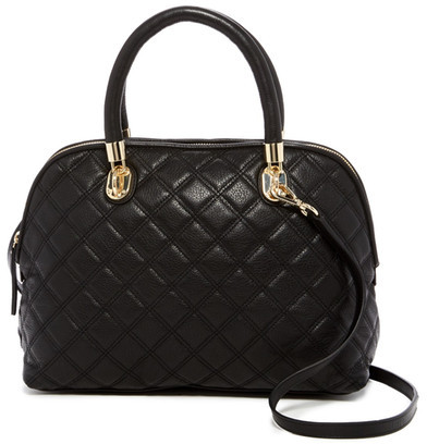 Cole Haan  Cole Haan Benson Quilted Leather Dome Satchel
