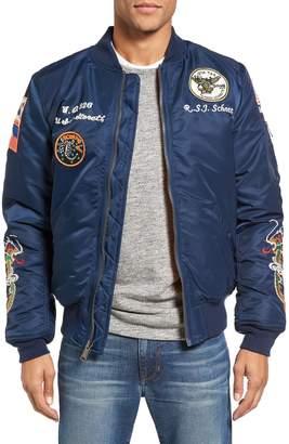 Schott NYC Souvenir MA-1 Flight Jacket